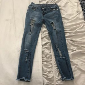 Denim - Blue Republic Ripped Jeans
